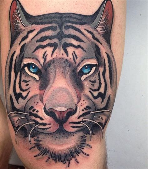tiger tattoo meanings design  men