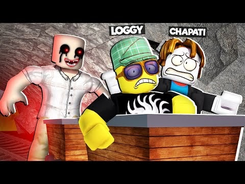 USING ROLLER COASTER TO ESCAPE BHOOT | ROBLOX