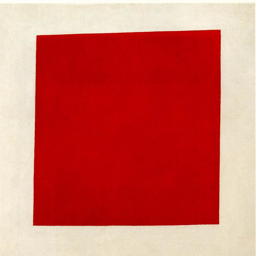 Malevich Kasimir Red Square Painterly Realism Of A Peasant Woman