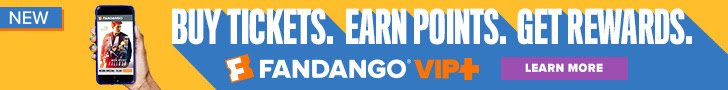 Fandango VIP+ Loyalty Program
