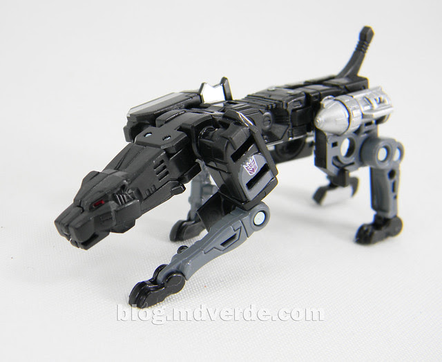 Transformers Jaguar (Ravage) Masterpiece - modo robot