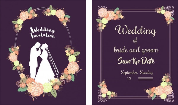 Creative wedding invitation card design template in mandala style.
