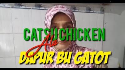 Video Kuliner: Dapur Bu Gatot Siapkan Catsu Chicken untuk HUT Nurina