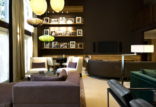 NJ Residential contemporary living room