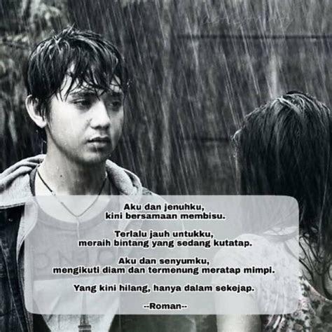 gambar  puisi roman picisan tentang cinta rindu