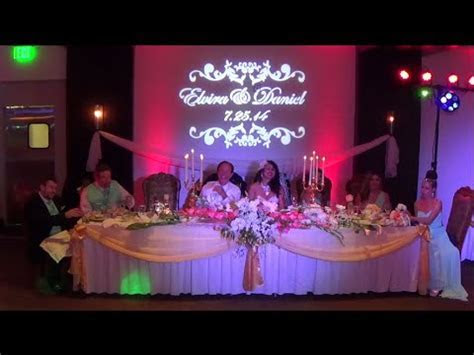 Affordable San Diego Wedding Videographer & Lighting at