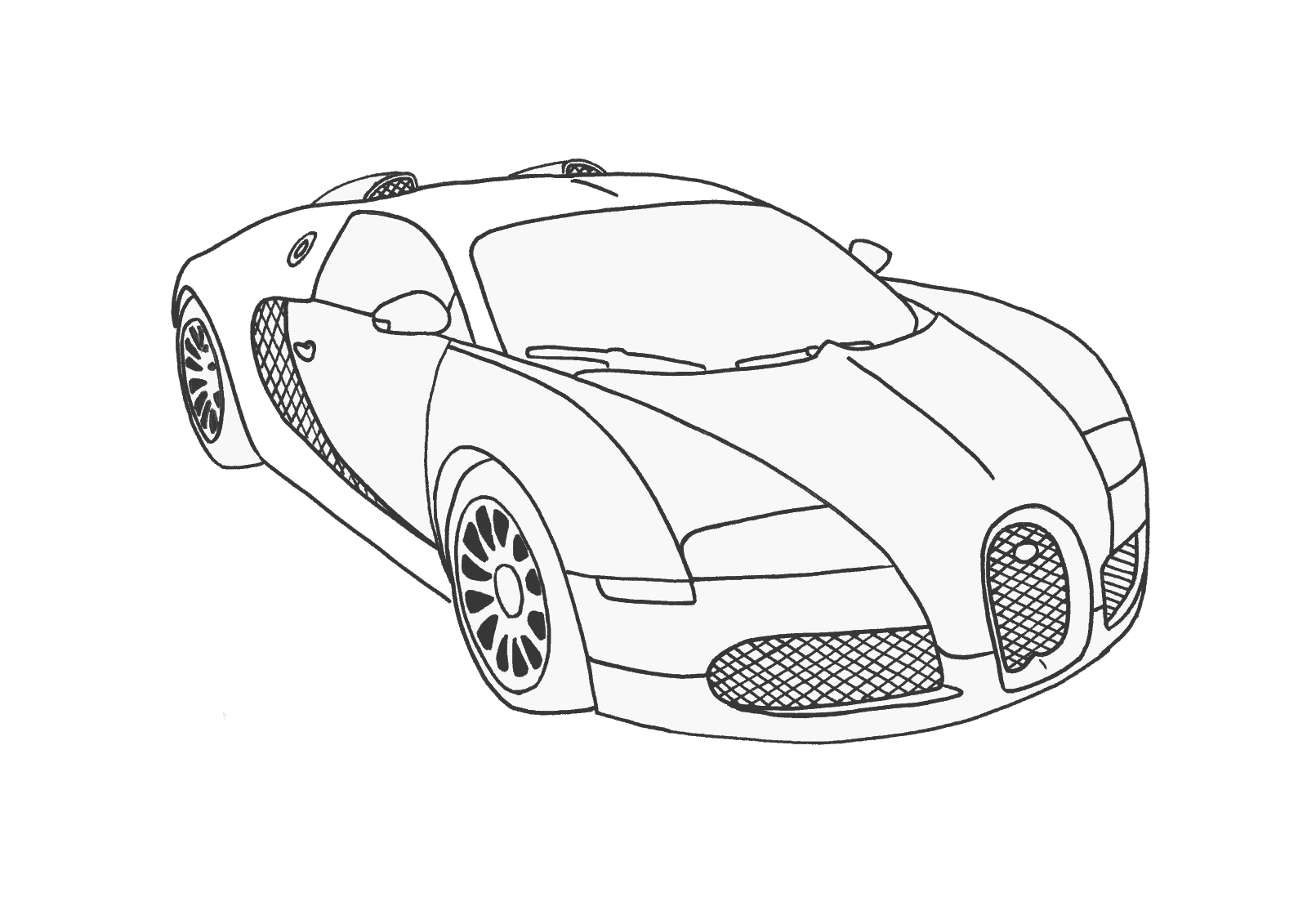 Need For Speed Coloring Pages At Getdrawingscom Free For Personal