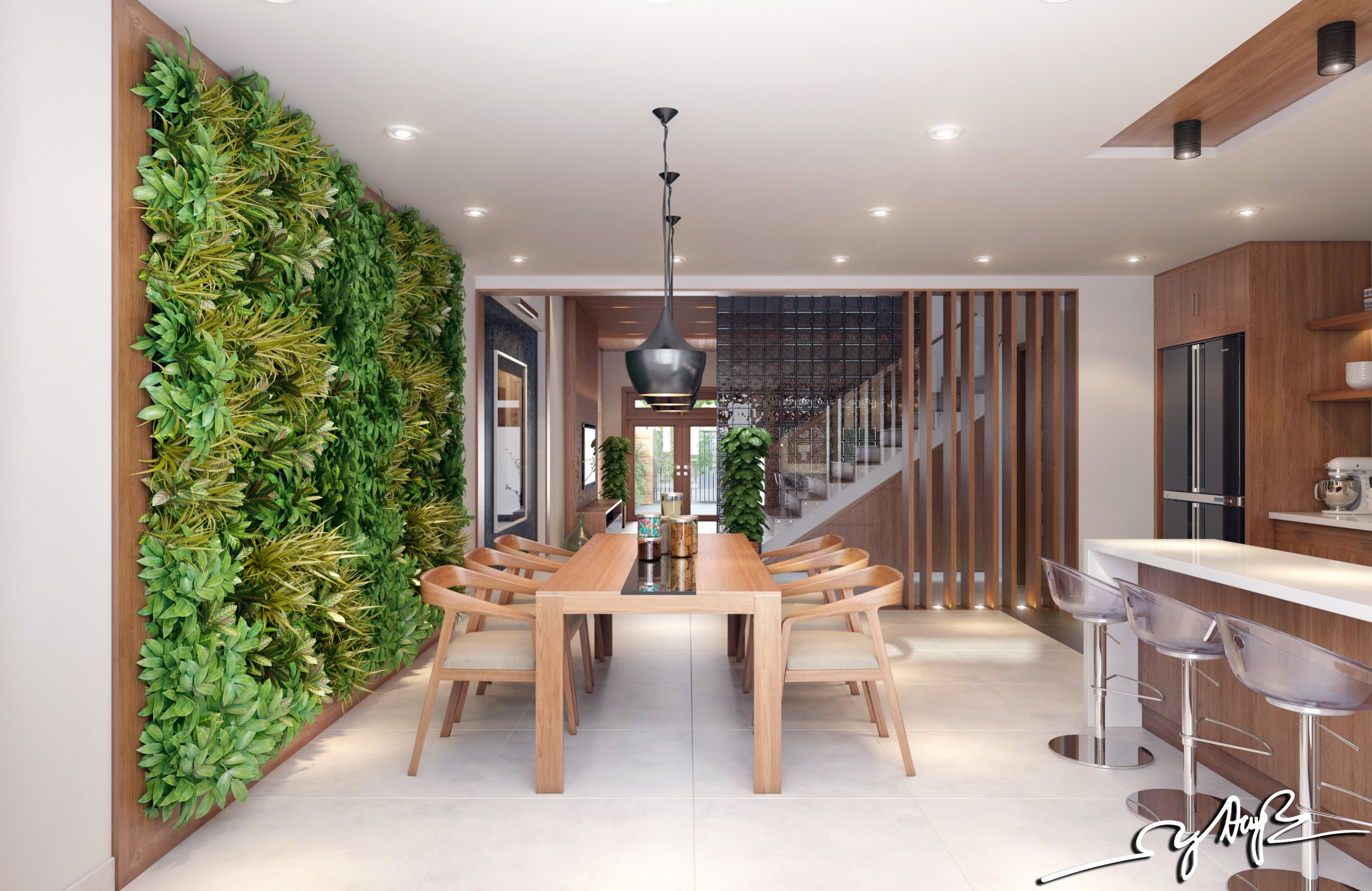 Interior Design Close To Nature: Rich Wood Themes And ...