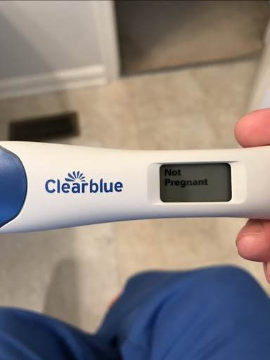 Negative Clear Blue Pregnancy Test Positive Pregnancy Test Work