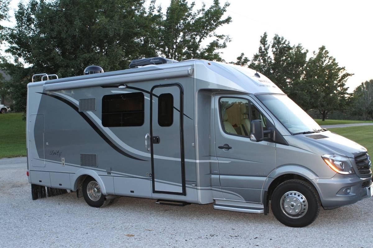 2014 Leisure Travel Van Mercedes Sprinter Camper For Sale ...