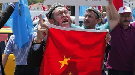 Anger with China drives Uighurs to Syrianwar