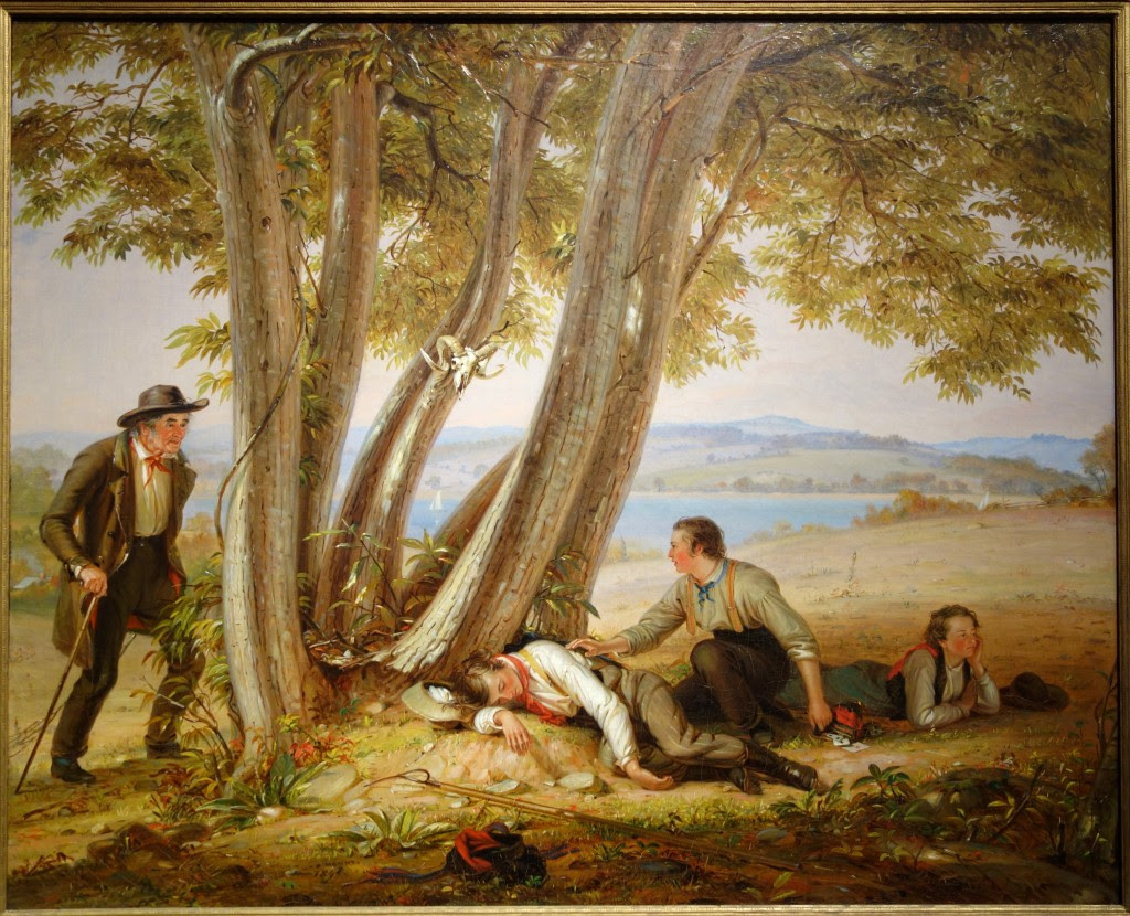 William Sidney Mount, Caught Napping, 1848