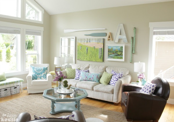 Living Dining Room Tour at The Happy Housie for Savvy Southern Style 3