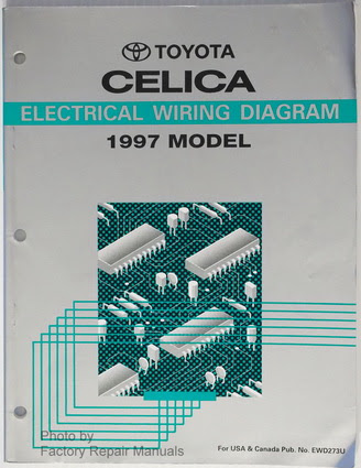 1997 Toyota Celica Electrical Wiring Diagrams Original ...