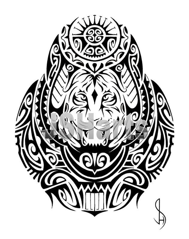 Samoan Tribal Drawing At Getdrawingscom Free For Personal Use