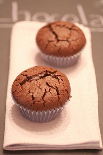 Gateaux au chocolat sans farine