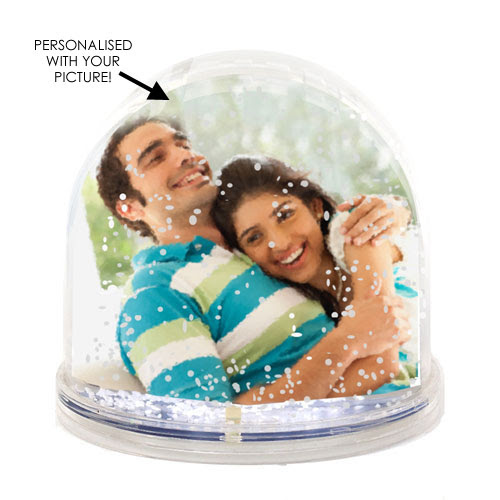 Personalised Snow Globe Photo Frame Your Photo In A Snow Globe Rs