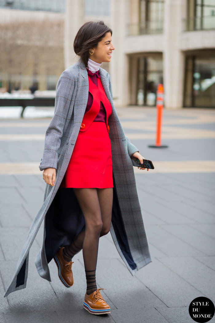 Leandra Medine Man Repeller Street Style Street Fashion Streetsnaps by STYLEDUMONDE Street Style Fashion Blog