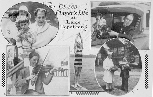 chess player's life at lake hopatcong