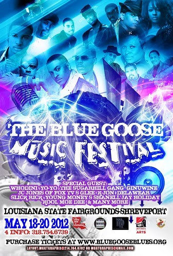 Blues Goose Music Fest May 18 - 20, State Fairgrounds, Shreveport by trudeau