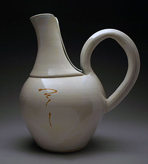 White Pitcher by Lori Buff