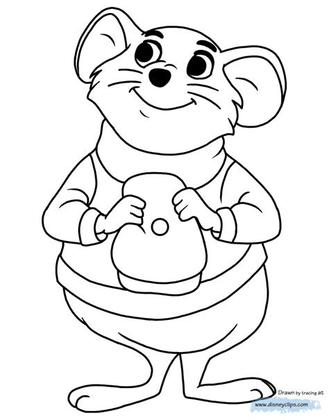 rescuers coloring pages disneyclipscom