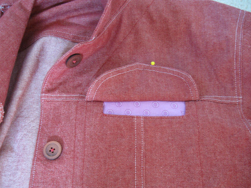 pocket with flap