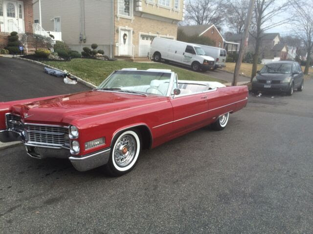 66 Cadillac Deville Convertible Sharpest One Out There ...