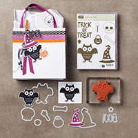 Howl-o-ween Treat Clear-Mount Bundle by Stampin' Up!