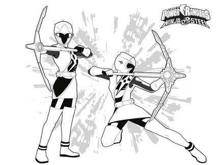 Les Power Rangers Ninja Steel Coloriages Goodies Power Rangers