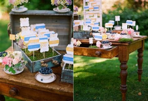 10 Creative Wedding Ideas for Escort Cards   OneWed