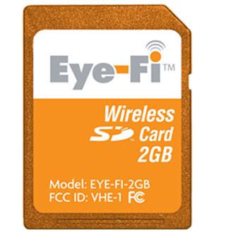 Eye-Fi Wireless SD Memory Card (2GB) - Review