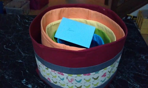 Birthday baskets