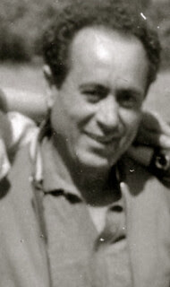 Daniel Ortega Pino, exiliado en Orán (Argelia), en una foto ca. 1970