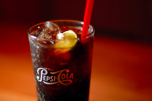 Pepsi with Lime