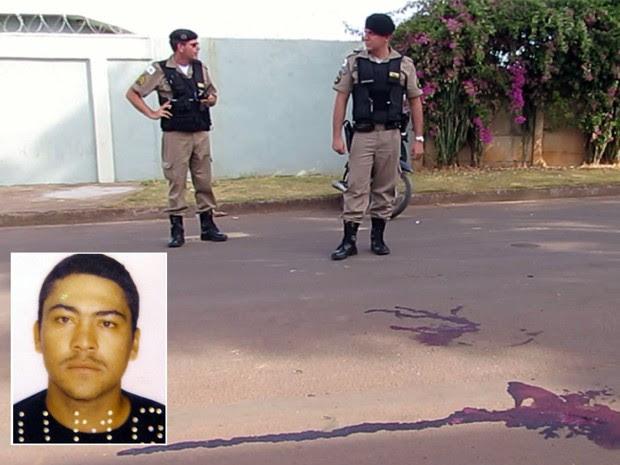 Homem de 30 anos é morto na frente da mãe em Passos (Foto: Hélder Almeida / Clicfolha)