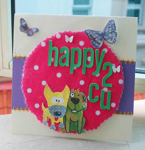 Happy 2 C U