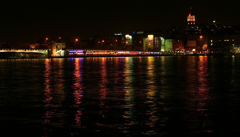 The Bosphorus at Night