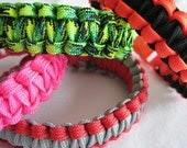 Handmade - Get 2 Custom Light Weight Paracord Bracelets