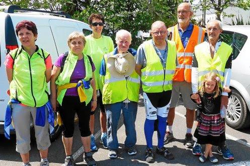 Les marcheurs du M4SR ont réalisé, samedi et dimanche, les 150 km de la randonnée dans le Pays bigouden.