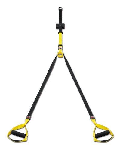 Body Sculpture Total Body Aerobic Suspension Trainer - Black/Yellow