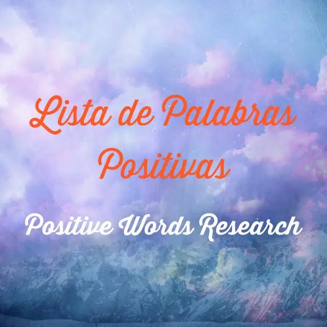 Lista De Palabras Positivas
