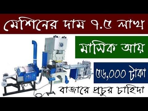 Aluminium Foil Container Making Business