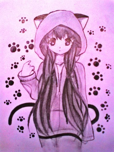 cuteanime cute anime cat girl  xinje anime