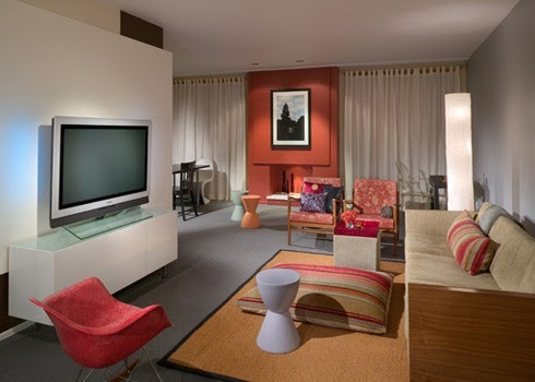 James Woolum Design Inc | Architecture + Interiors modern living room