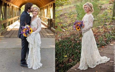 Most Romantic Celebrity Wedding Dresses.