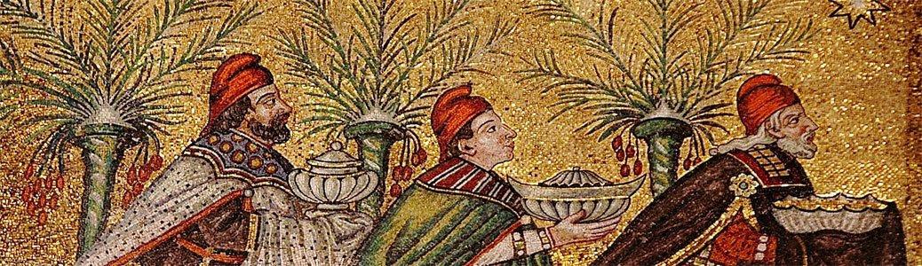 Magi (particolare), VI secolo, mosaico, Ravenna, basilica di San Vitale