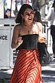 vanessa hudgens cant stop laughing while shopping with friends 01