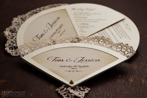 Wedding Fans Collection   Creative and Unique Invitations