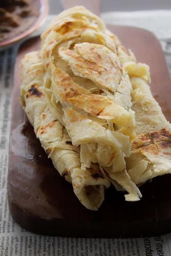 Homemade Kerala Porotta